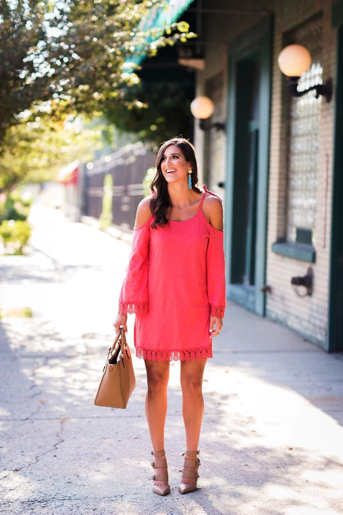 c5700193cc0 25 Amazing Coral Dress Ideas To Try This Summer