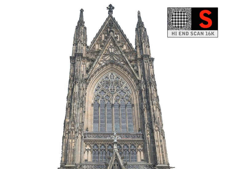 3d gothic architecture