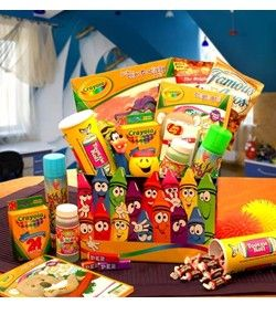 Crayola Kids Gift Basket