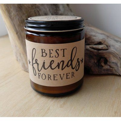 Define Design Etc. Best Friends Forever Personalized Scented Jar Candle