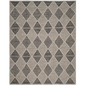 Safavieh Montauk Segundo 10 X 14 Black Indoor Trellis Coastal Handcrafted Area Rug Lowes Com Area Rugs Coastal Area Rugs Rugs