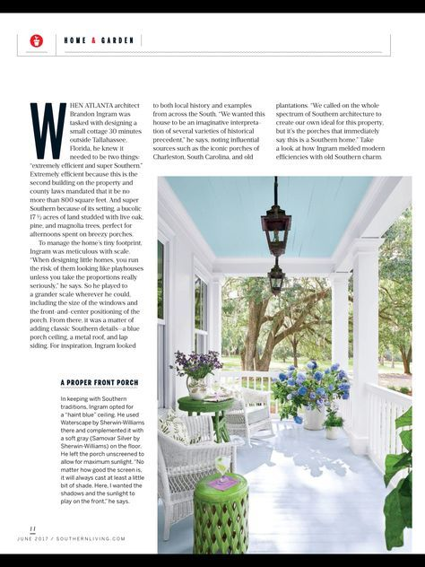 """Instant Classic"" from Southern Living, June 2017. Read it ..."