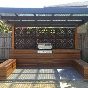Outdeco® Gardenscreen™ Marakesh™ BrownThe Block Shop - Channel 9