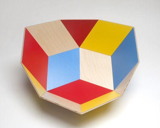 Image of Tegl Bowl - Mondrian