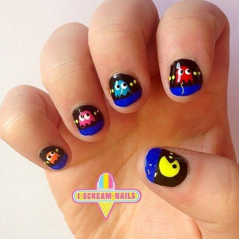 Best 25 pac man nails ideas on pinterest mens nails men nail 17 nail art salons you have to visit before you die prinsesfo Image collections