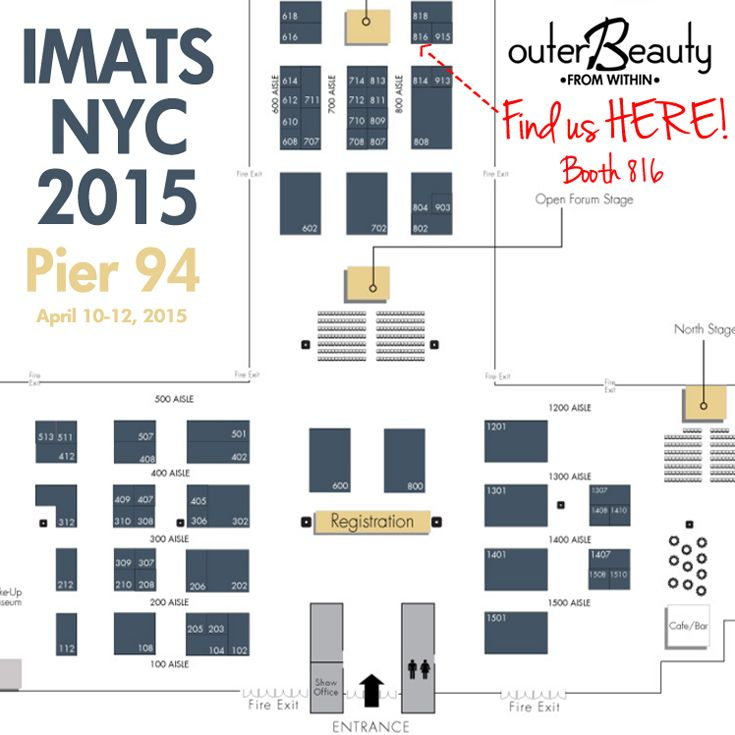 Two more sleeps and IMATS New York begins... Remember to circle us on the exhibitor floor plan. We're located at booth 816. Hope to see all your lovely faces there!   #makeupsale #promua #mua #promakeupartist #bbloggers #beautybloggers #beautyvlogger #youtubemeetup #blogger #makeupchat #makeuptalk #makeupjunkie #makeup #beauty #imats #imats2015 #imatsnyc #imatsnyc2015 #imatsny #outerbeautycosmetics #outerbeautyinc