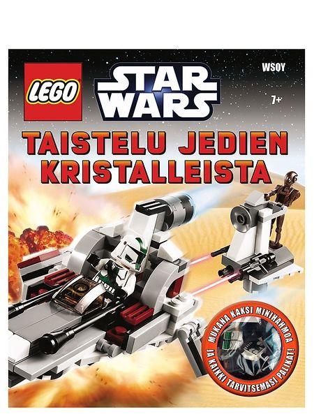 Lego Star Wars: Taistelu jedien kristalleista. Herätä sarjistarinat eloon! Mukana kaksi minihahmoa, tarvittavat LEGO-palikat ja rakennusohjeet. Ikäsuositus 7+