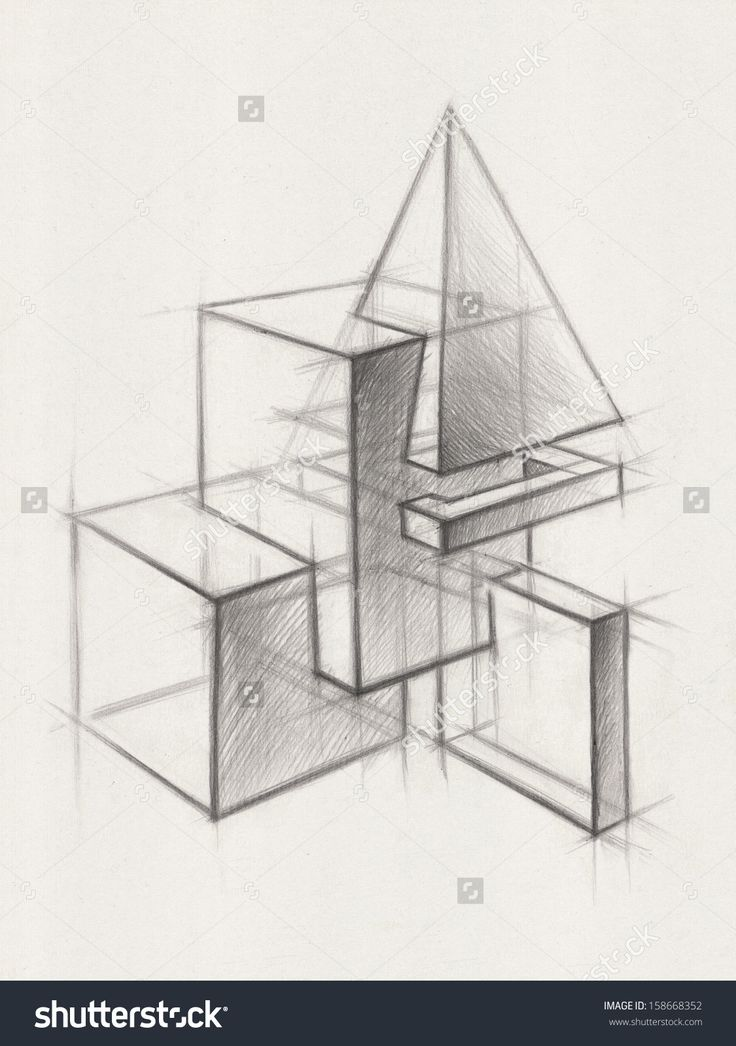 stock-photo-solid-geometric-shapes-illustration-of-geometric-shapes-it-is-a-pencil-drawing-158668352.jpg (1125×1600)