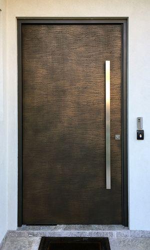 Dunes Lace Door | Gold Bronze