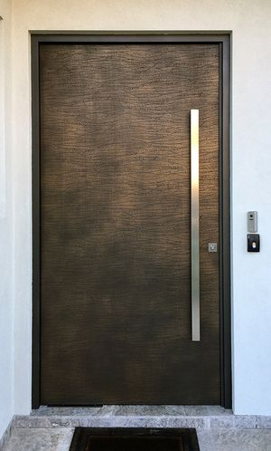 Dunes Lace Door | Gold Bronze