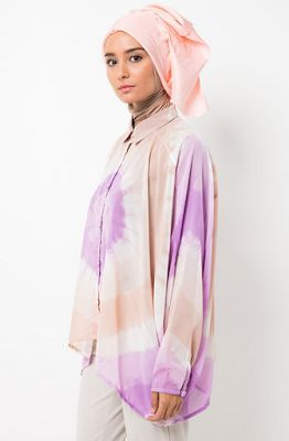 Busana Muslim Dian Pelangi Bertema Tie Dye Pastel Terbaru
