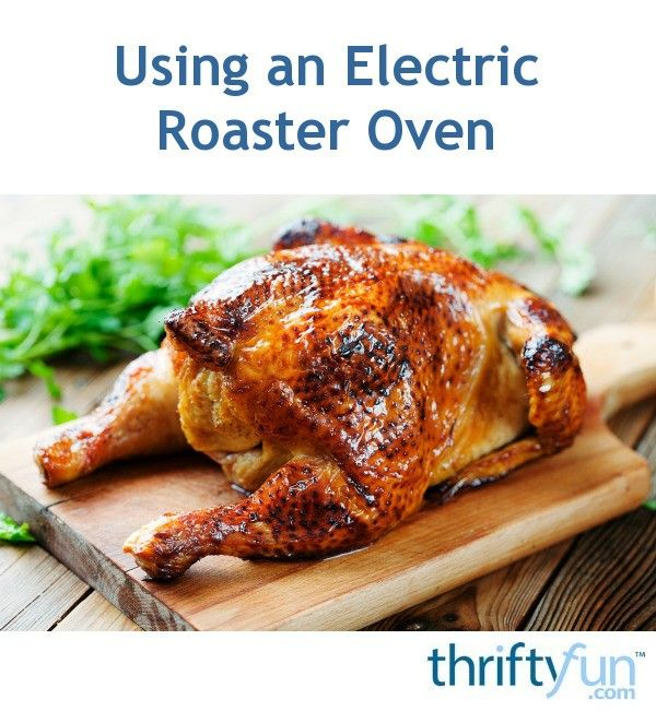 This is a guide about cooking a turkey in an electric roaster oven. Rather than using your oven to roast the turkey you can prepare the perfect bird in an electric roasting pan.