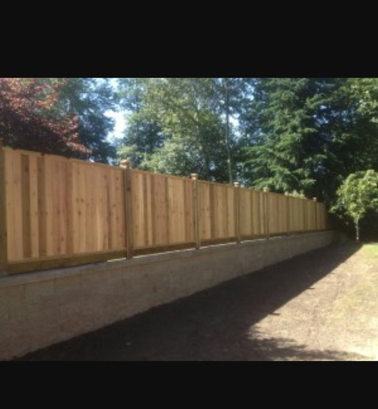 outstanding wooden fence on brick wall pictures
