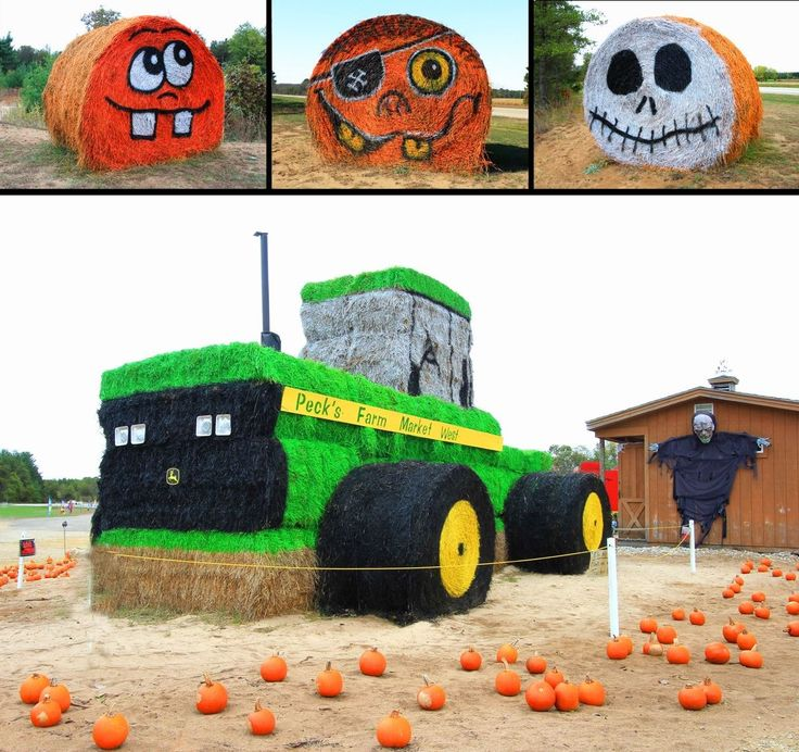 Hay Bale Decorating Ideas Best Decoration 2018  sc 1 st  Billingsblessingbags.org & Round Hay Bale Fall Decorating Ideas | Billingsblessingbags.org