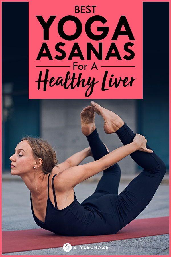 Yoga poses for liver health