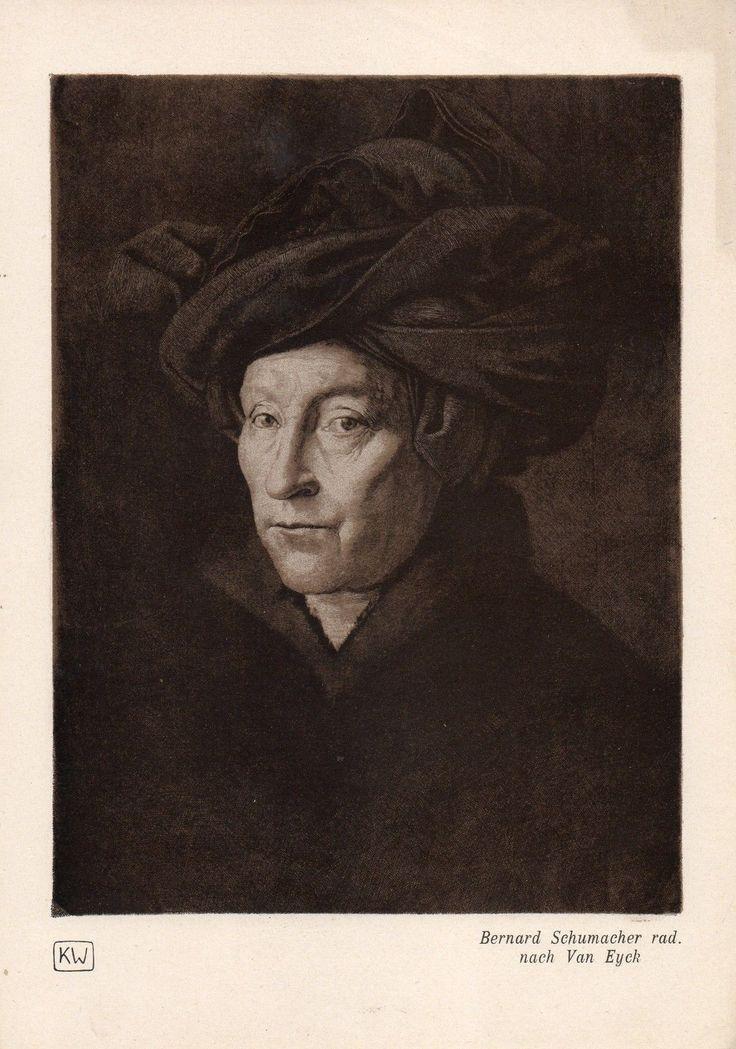 nach van Eyck - Mann mit Turban