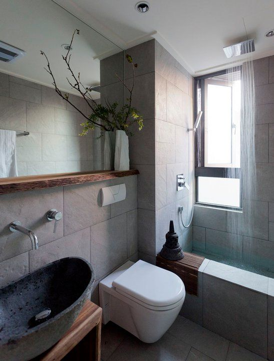 17 best images about oriental interiors on pinterest for Asian small bathroom design