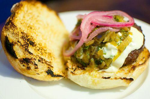 Green Chile Cheeseburger | Beef | Pinterest