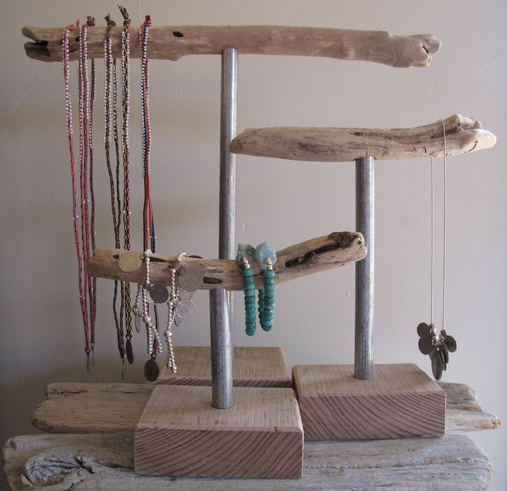 Image of Driftwood Jewellery Stands