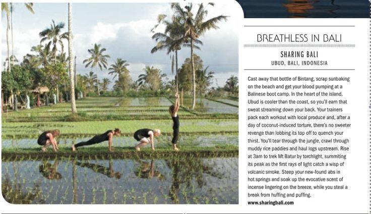 beautiful burpees in bali #GetLostMagazine