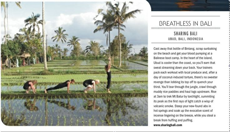 beautiful burpees in bali #GetLostMagazine