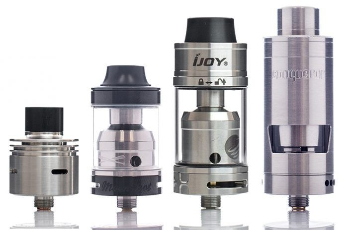 RBAs, RDAs, RTAs and RDTAs are all common rebuildable tanks available for vaping devices. Not sure which ones best for you? Find out here.