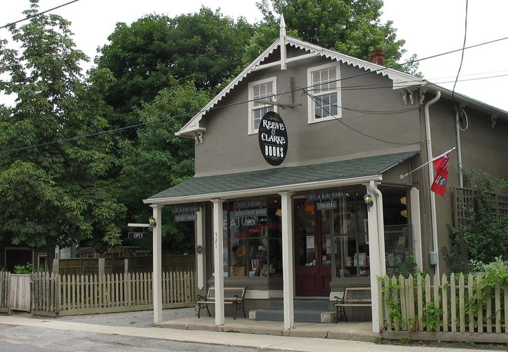 Reeve & Clarke Books, Glen Williams (Georgetown), Ontario, Canada.