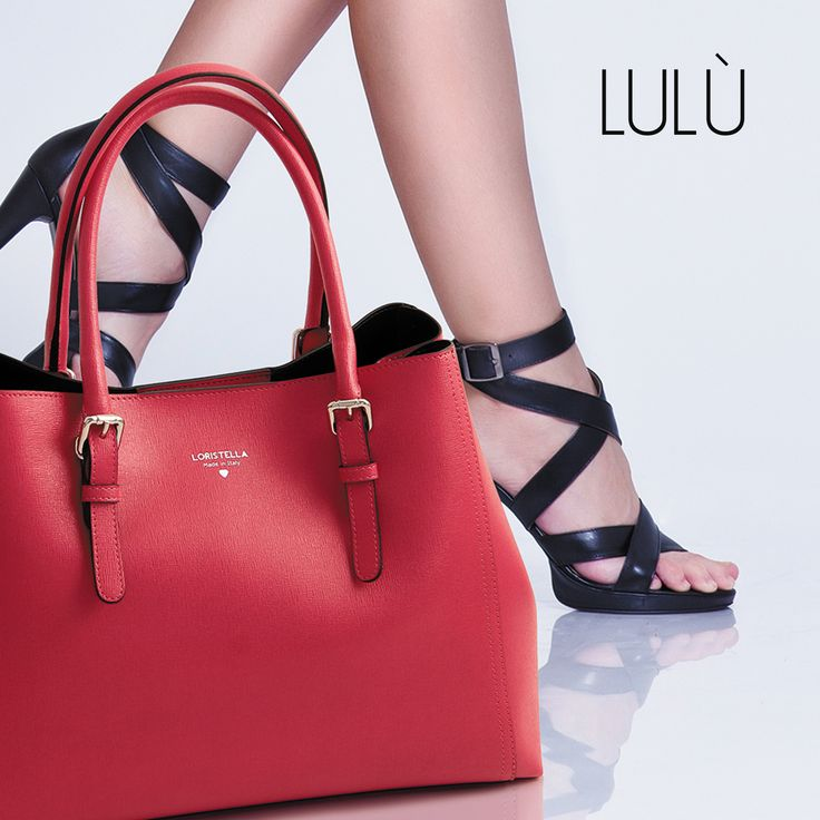 LULU' COLLECTION #loristella #bags #lulù #leather #madeinitaly #red #christmas #accessories #winter #collection
