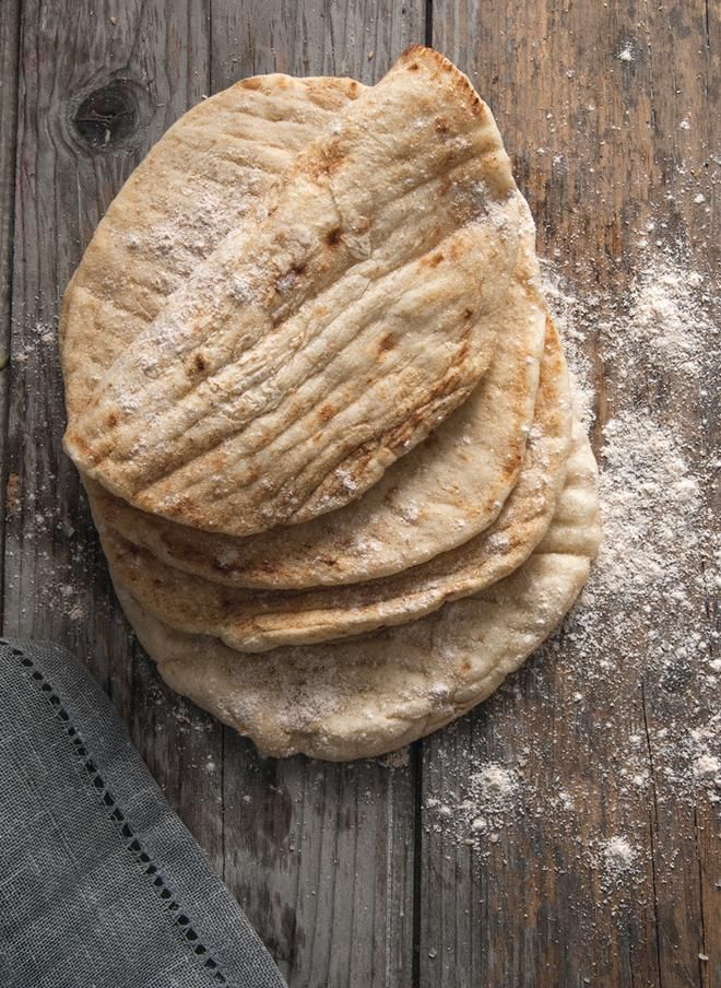 Πίτα για σουβλάκι/Pita Bread