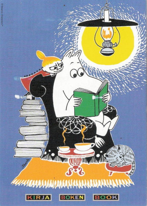 Moominreading.... thought ingrid might enjoy this:)