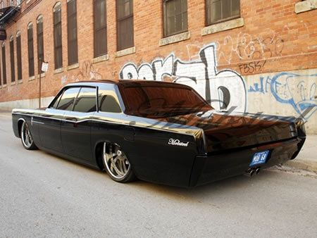 Lincoln Continental - : Black on Black, Lincoln Continental, Murdered Out, Suicide Doors