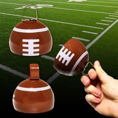 Football Metal Cowbell from Windy City Novelties