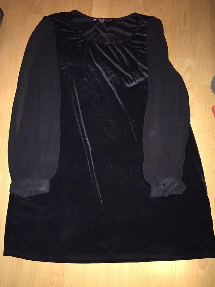 Inspire New Look Sz 26 Velvet Black Top Dress Christmas     eBay