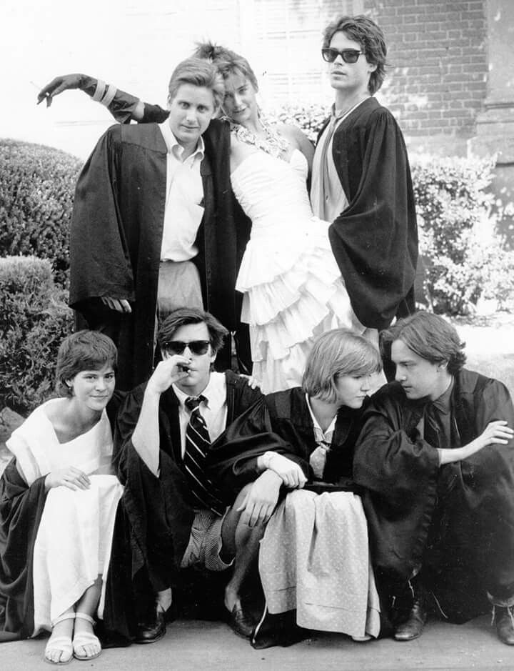 St Elmos Fire - stellar cast that was branded the new Brat Pack