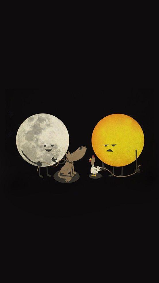 En estos casos prefiero ser la luna..  xD  #Entucarasol
