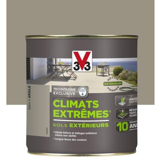 Peinture Sol Extérieur Climats Extrêmes V33 Argile 05 L