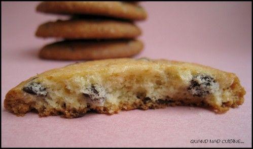 biscuits fins aux pépites de chocolat