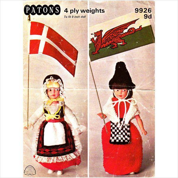 Knitting Patterns For Welsh Dolls : 153 best Danish & Welsh my better 1/2 images on Pinterest Danishes, Wel...