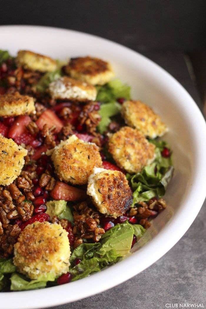 25+ bästa Goat cheese salad idéerna på Pinterest | Getost ...