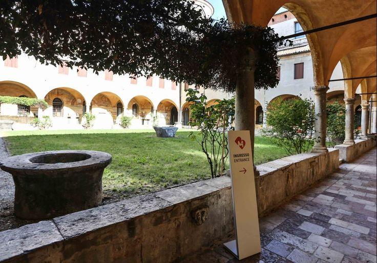 Bassano del Grappa - ingresso al Museo civico