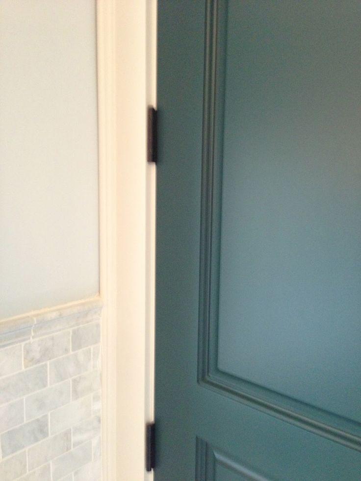 bm hidden fall paint the inside door of the bathroom
