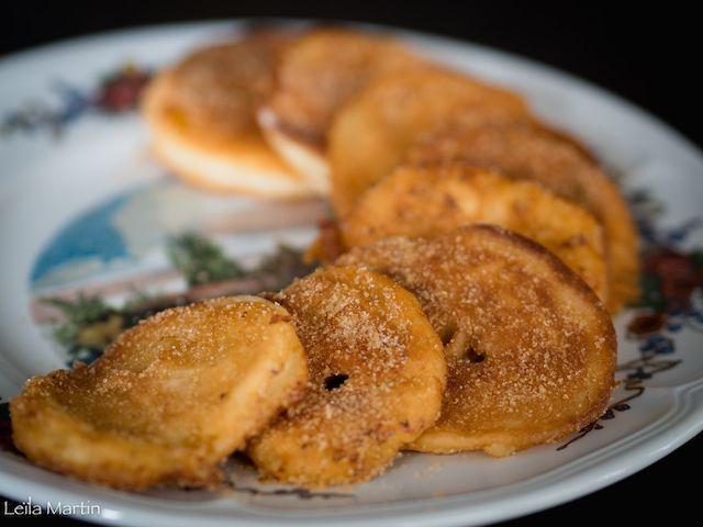 Apfelkiechele, les fameux beignets de pomme alsaciens – je vais vous cuisiner