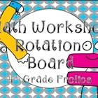This set is to be used in organizing math rotations during guided math or math workshop. The rotations included in this set are:  Math Facts  At Yo...