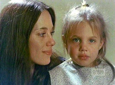 Marcheline Bertrand and her daughter Angelina Jolie