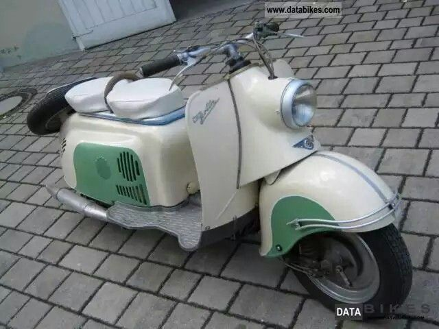 Vespa Bike Old