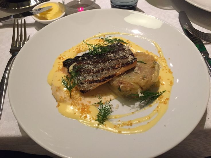 Trout at restaurant Salutorget