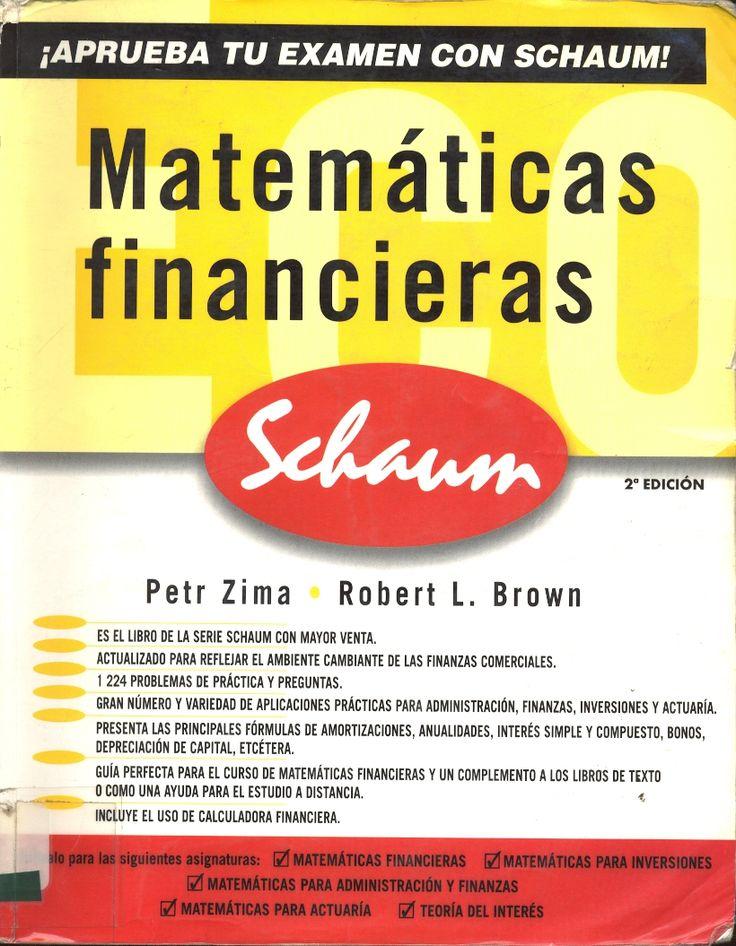 #matemáticasfinancieras #petrzima #robertbrown #matemáticasfinancieras #problemas #ejercicios #escueladecomerciodesantiago #bibliotecaccs