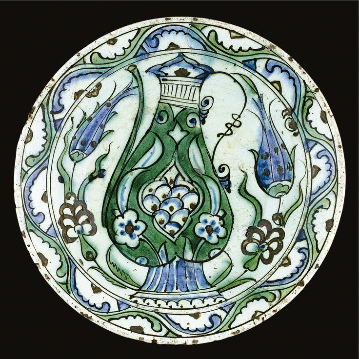 An Iznik polychrome dish, Turkey, 17th century