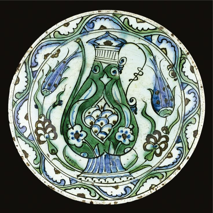 An Iznik polychrome dish, Turkey, 17th century