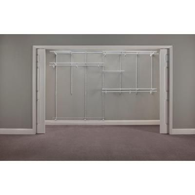 Closet Organizer Kit - White | The Home Depot Canada